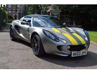 Lotus Elise ( FSH + low miles only 36k )