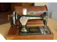 Vintage Singer sewing machine for sale