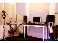 RECORDING STUDIO/MUSIC PRODUCTION ROOM/LONDON E1 FOR RENT