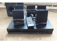 Sony 5.1 HBD-TZ140 DVD Home Theater System With Speakers and Remote