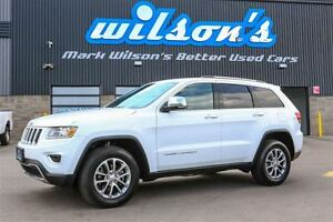 2016 Jeep Grand Cherokee LIMITED 4WD! LEATHER! SUNROOF! REAR CAM