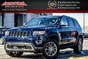 2016 Jeep Grand Cherokee Limited |4x4|Sunroof|Nav|RearCam|HtdFrS