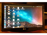 """LG Flatron 19"""" LCD TV and Monitor - M197WDP - with HMDI and DVI - Plus Freeview"""