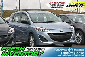 2013 Mazda Mazda5 GS with Cruise & Bluetooth