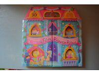 Magnetic Fairy Princess Palace book - Like New. Age 3 +