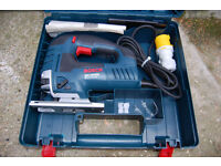 New BOSCH Jigsaw GST 150 BCE Professional power tool 110V RRP £130