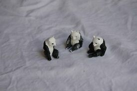 Vintage Britains Zoo animals, 3 panda