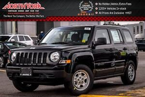 2017 Jeep Patriot NEW Car Sport|Manual|Traction/Cruise Cntrl|Cd