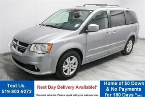 2016 Dodge Grand Caravan CREW! QUAD CAPTAINS! POWER SEAT! DUAL A