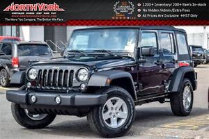2016 Jeep WRANGLER UNLIMITED NEW Car Sport|4x4|Power Convenience