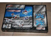 FIA Toys 'Nuts & Bolts' Engineering Set (like Meccano) - Flying Machines / Planes Age 6+ NEW!