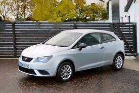 2013 SEAT IBIZA 1.2 AC FSH 2 KEYS LOW INSURANCE BIG MPG LOW RATE FINANCE AVAIL 6 MONTHS WARRANTY