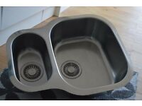 Franke Undermount Stainless Steel Sink.