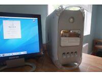 Apple Power Macintosh G4 1.25 (MDD 2003), HP Monitor, Keyboard, Mouse - VGC