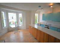 A first floor two double bedroom flat. Large bright and airy reception open to the modern kitchen