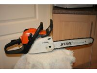 Stihl MS181c petrol chainsaw with easy chain adjust
