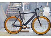 Brand new NOLOGO ALUMINIUM single speed fixed gear fixie bike/ road bike/ bicycles AU