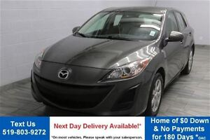 2011 Mazda MAZDA3 SPORT GX HATCHBACK! 5-SPEED! ALLOYS! POWER PAC
