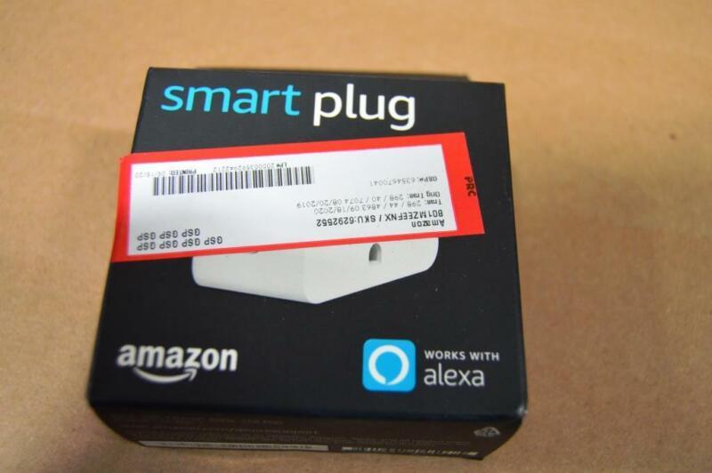 Genuine Amazon Smart Plug White, Works with Alexa B01MZEEFNX NEW SEAL OPEN