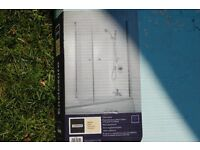 Brand new 1500*800mm clear glass shower door - still boxed