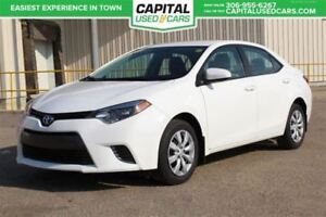2016 Toyota Corolla **ACCIDENT FREE**BACKUP CAM**HTD SEATS** BT
