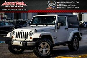 2011 Jeep Wrangler Sahara|4x4|AccidentFree/1-Owner|R-Start|Cruis
