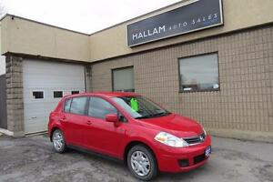 2011 Nissan Versa 1.8S 6 Speed Manual