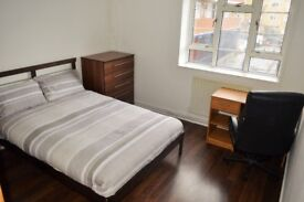 COME AND VIEW TODAY!!! - DOUBLE ROOM TO RENT IN WHITECHAPEL E1 - £750.00 PCM ALL BILLS INCLUDED