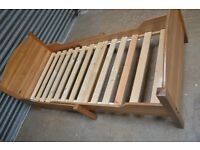 Single Adjustable Wooden Child's Bed