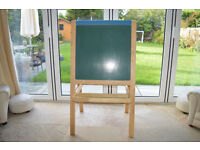 Voila easel - chalkboard/magnetic whiteboard - Collection Only
