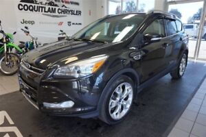 2015 Ford Escape Titanium- LEATHER, SUNROOF, ALLOY WHEELS!