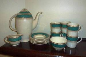 Coffee set by Burleigh Ware Lindfield Ku-ring-gai Area Preview