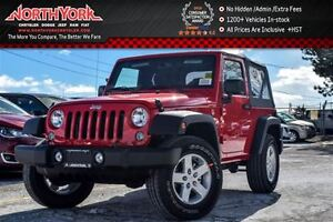 2017 Jeep Wrangler New Car Sport 4x4|Manual|Power Convi.Pkg|AC|K