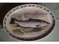 'Great Lake Trout', Portmeirion Serving Dish no.2, Unused in Superb Condition