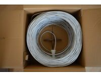 3 Boxes Cat 5 Network Cable