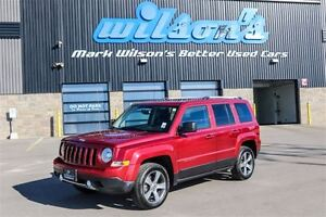 2016 Jeep Patriot HIGH ALTITUDE 4WD! LEATHER! SUNROOF! $67/WK, 5