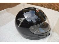 Full Face Motorcycle Helmet with Visor by FM Vexon - Size L