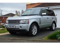 2009 09 Land Rover Range Rover 3.6 TDV8 VOGUE Diesel SATNAV DIGITAL TV REAR CAMERA HEATED LEATHER