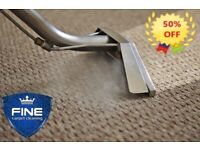 50% OFF PROFESSIONAL CARPET AND UPHOLSTERY STEAM CLEANING - STAIN REMOVAL - Hendon -