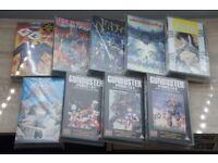 Vintage ANIME MANGA 90'S VHS videos Pristine condition
