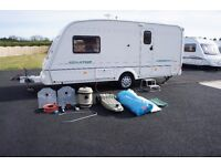 2002 BAILEY SENATOR VERMONT 2-BERTH 1-OWNER MOTOR MOVER - LOADS OF EXTRAS