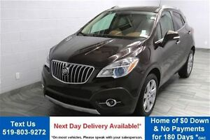 2014 Buick Encore CXL w/ LEATHER! SUNROOF! REVERSE CAMERA! BLIND