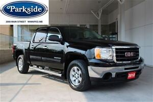 2010 GMC Sierra 1500 SLE Crew Cab 4x4 4.8L V8 Local one owner Tr