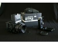 Bronia ETRSi medium format outfit. Excellent working condition