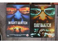 DAY WATCH - NIGHT WATCH DVD's