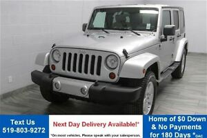 2010 Jeep WRANGLER UNLIMITED UNLIMITED SAHARA 4WD w/ ALLOYS! POW