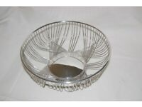 Vintage Silver Plated Bowl - VGC - £6 - collection Dedham - free local delivery