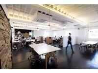 Desk rental in beautiful creative design office - Highbury and Islington