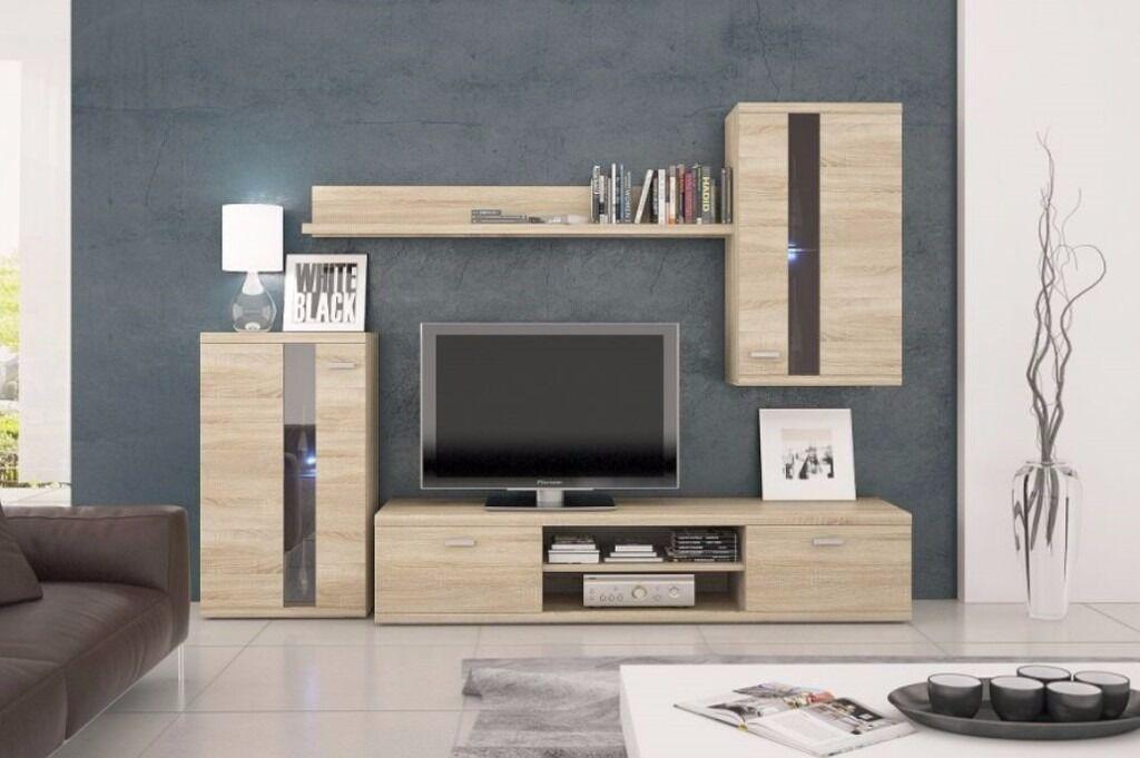 LIFE LIVING ROOM SET TV UNIT CABINET