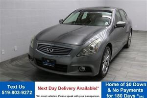 2011 Infiniti G25X LUXURY AWD w/ LEATHER! SUNROOF! REVERSE CAMER